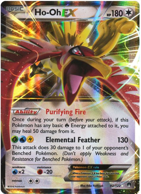 siege hello ho oh ex breakpoint 92 card