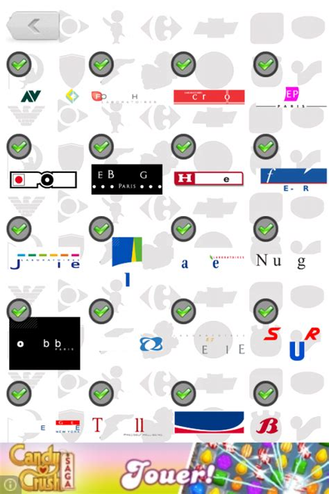 level 17 page 4 logos quizz solutions