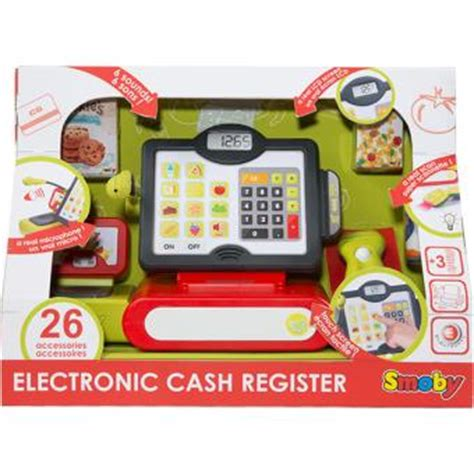 gadget de cuisine caisse enregistreuse electronique smoby cuisine achat