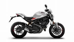 Ducati Monster 797 Plus Abs  Star White Silk  2020
