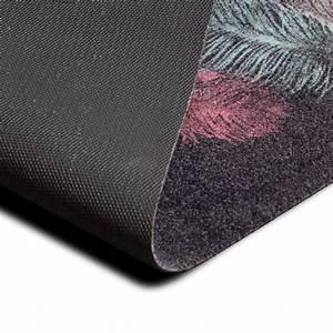 teppichlaufer federn ethno muster design teppich laufer With balkon teppich mit barbara becker tapete federn