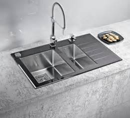 kitchen sink and faucets stainless steel kitchen sinks and modern faucets functional kitchen design ideas
