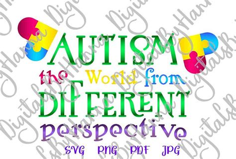 You might have problems trying to find these cricut files since some links on the internet such images are scalable, and you can put the files in pure xml. Autism Awareness Shirt Tee Quote Saying World from ...