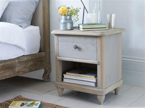 bedside desk polder side table grey wooden bedside table loaf