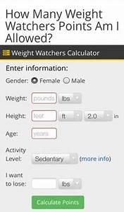 Weight Watchers Smartpoints Berechnen : smart points calculator weight watchers online tool weight watchers pinterest weight ~ Themetempest.com Abrechnung