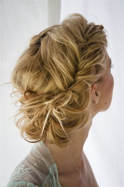 prom hairstyles for long hair updo with retro twisted