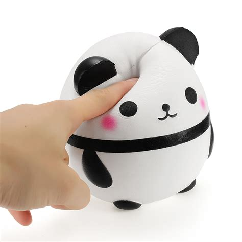 squishy panda doll egg jumbo 14cm rising with packaging collection gift decor soft squeeze