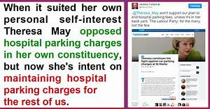 Theresa May's hypocrisy over hospital parking charges