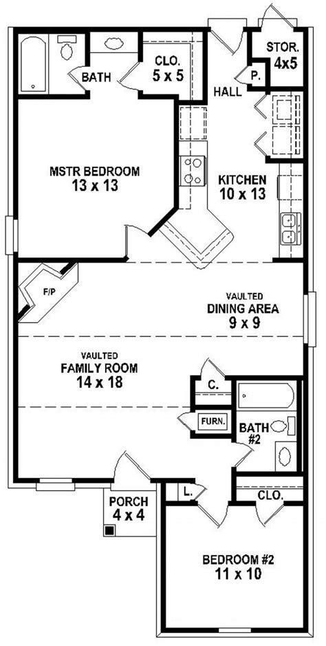 simple 2 bedroom house plans 654334 simple 2 bedroom 2 bath house plan house plans