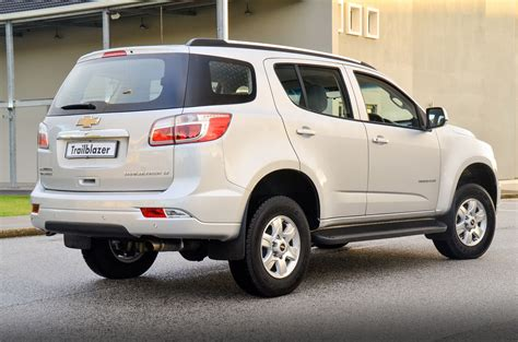 Chevrolet Trailblazer South Africa Upgraded For 2014
