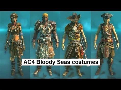 ac4 rating ac4 multiplayer bloody seas costumes rebel stowaway wayfarer mercenary stalker adventurer