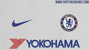 Chelsea 2017 18 Nike away kit colors and basic design
