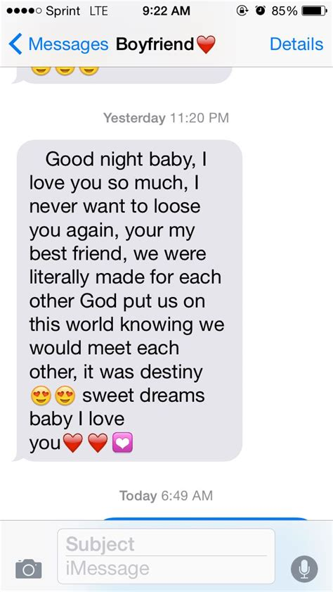 cute texts for your girlfriend