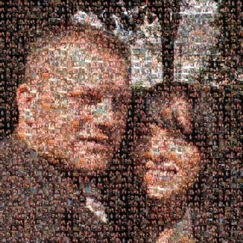 foto mosaik kreativ bilder die geschenkidee
