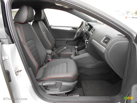 Titan Black Interior 2012 Volkswagen Jetta Gli Photo
