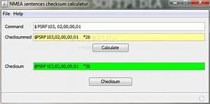 Nmea Sentences Checksum Calculator Download