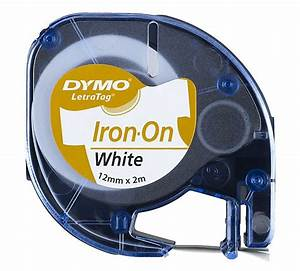 dymo letratag iron on fabric label tape dymo clas ohlson With iron on label maker
