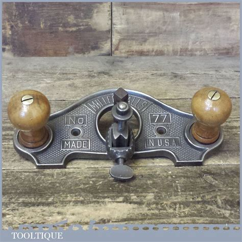 vintage miller falls usa   closed throat hand router