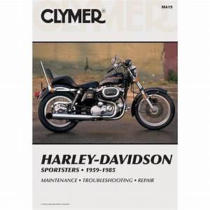 Clymer Repair Manual - Harley-davidson Sportsters - M419 - Manuals  U0026 Books