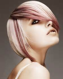 Short Two Tone Hair Color