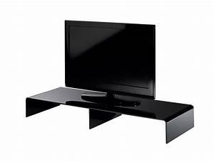 Tv Möbel 110 Cm : tv konsole new york breite 110 cm acrylglas schwarz wohnen tv m bel tv lowboards ~ Indierocktalk.com Haus und Dekorationen