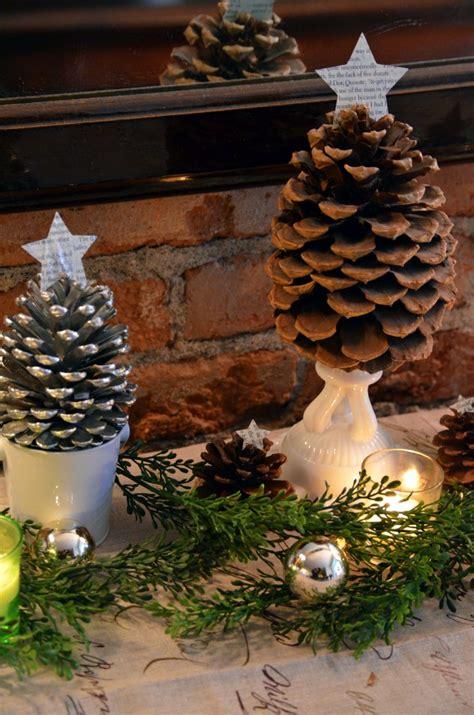 tutorials  tips link party  tree craft pine cones
