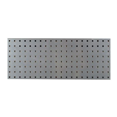 locboard   silver pegboard wall organizer lbs