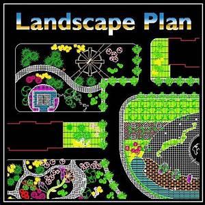 Residential Landscape Design 5 – CAD Design Free CAD
