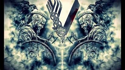 Vikings Ragnar Wallpapers Lodbrok Wardruna Battle Kattegat