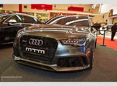 722 HP Audi RS6 by MTM Shows Up at Essen Motor Show 2013