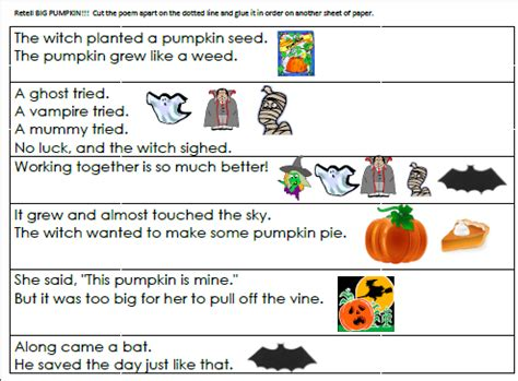 Peter Peter Pumpkin Eater Poem Printable by A Pumpkin Unit Filled With Lessons Printables And More