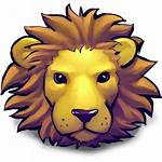 Lion Icon Leo Young Zoo Icons Transparent