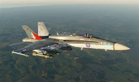 F-18C Hornet Royal Navy 892 Naval Air Squadron