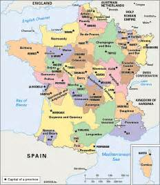 France Province Map