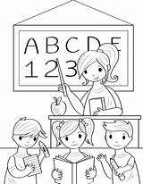 Coloring Teacher Pages Printable Preschool Teachers Elementary Kindergarten Education Activities Printables Educational Museprintables Early Pdf Science Drawing Quotes Childhood sketch template