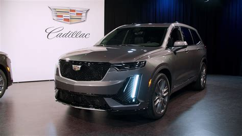 2020 Cadillac Lineup by 2020 Cadillac Xt6 Gets Unwrapped Before The Detroit Auto