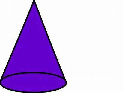 Cone Shape 3d Clip Examples Cliparts Shapes