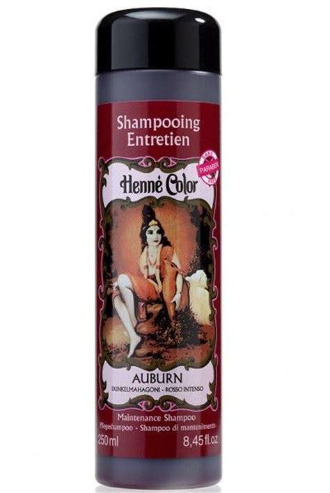 auburn henna maintenance shampoo