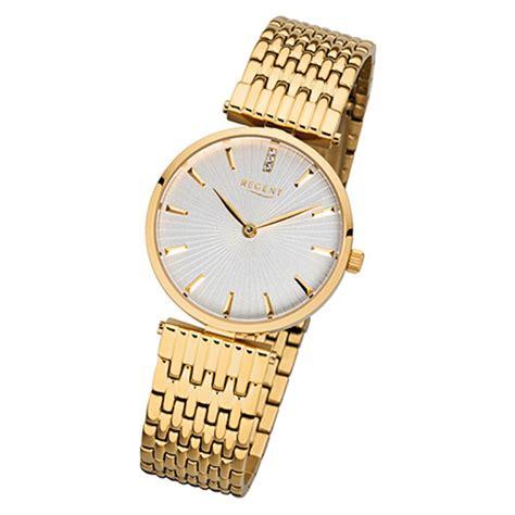 armbanduhr damen gold regent damen armbanduhr 32 f 1060 quarz uhr edelstahl