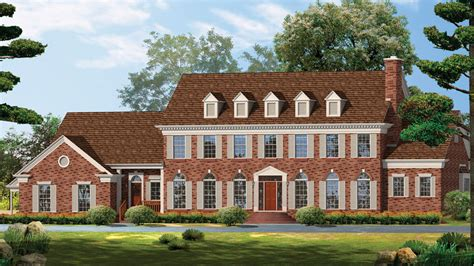 georgian house plans georgian home plans georgian style home designs from