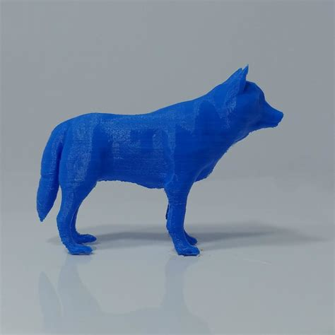 3d Print Model Low Poly Wolf Cgtrader