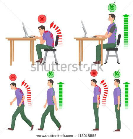 steh schreibtisch correct posture stock images royalty free images