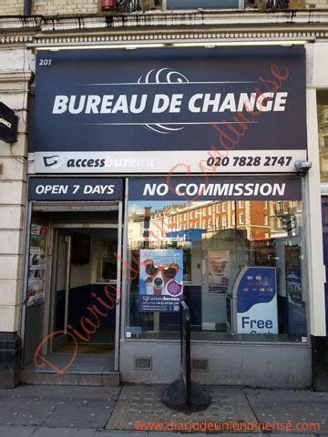 bureau de change londres listado de casas de cambio recomendadas en londres