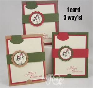 Stampin Up Christmas Idea 1 Simply Snowmen