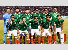 Selección mexicana México cae dos puestos en el ranking