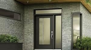 prix d39une porte d39entree en acier cout moyen tarif de With prix porte d entrée aluminium vitrée