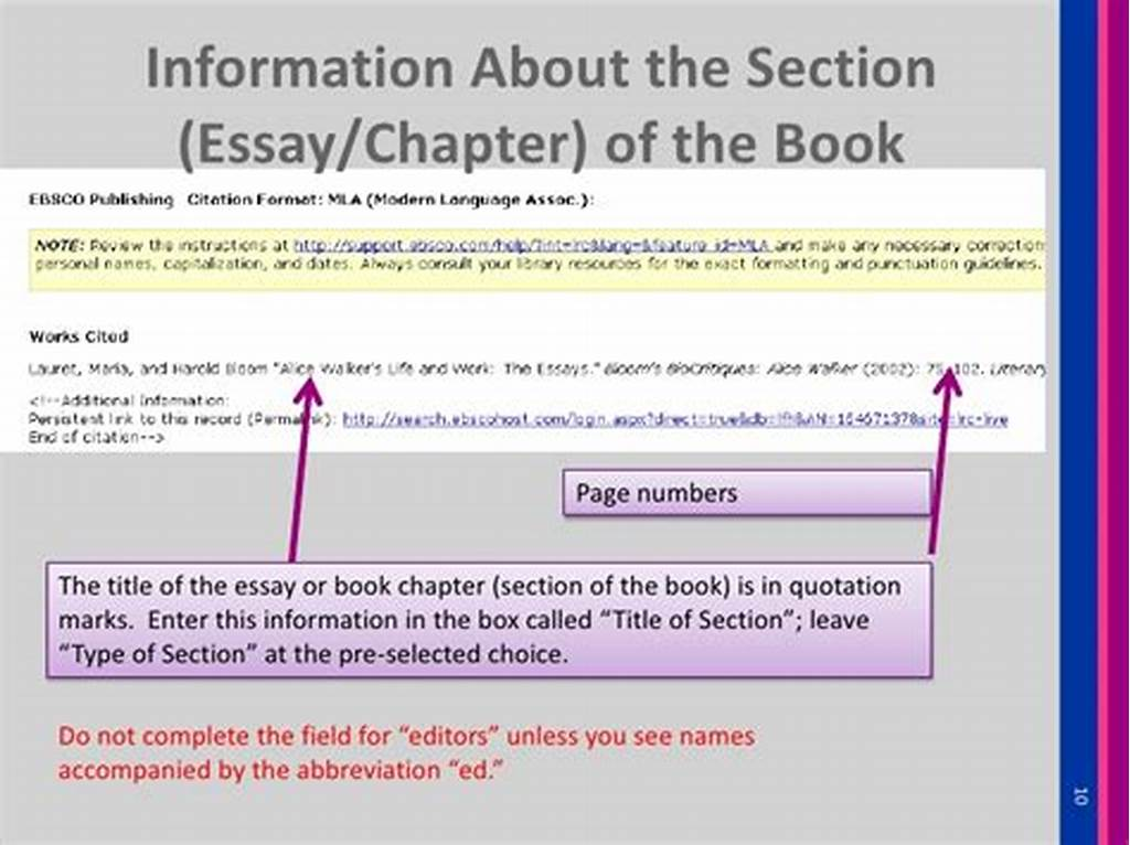 #How #To #Cite #Information #In #An #Essay