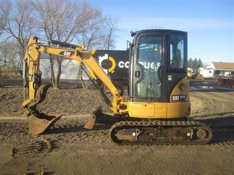 mini excavator  cat  cr