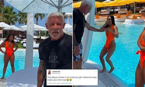 Wayne Lineker, 58, sparks outrage on Twitter as he is ...
