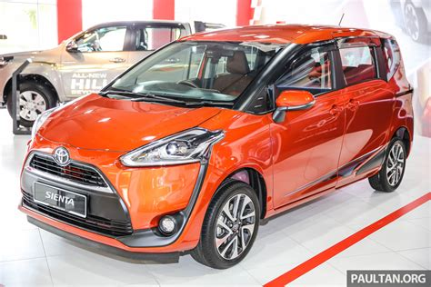 Toyota Sienta by Gallery 2016 Toyota Sienta At Mitsui Outlet Park